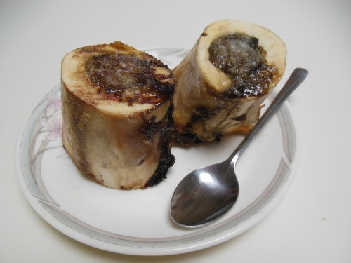 Marrowbone- I describe it to skeptics as being similar to a savory crème brulee.