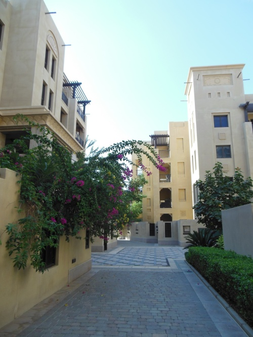 "Old Town: While parts of the city look ""authentic"" (or what you might expect to see in a Middle Eastern city), the oldest building in Dubai is probably from the 60s or 70s. This complex, known as ""Old Town"", was finished in 2007."