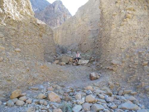 Wadi walking.