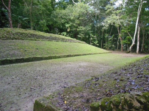 Like most of the archeological sites I visited in the Yucatan, Xunantunich has a Ball Court.  It's interesting to think what games these courts may have been used for [http://en.wikipedia.org/wiki/Mesoamerican_ballgame]…
