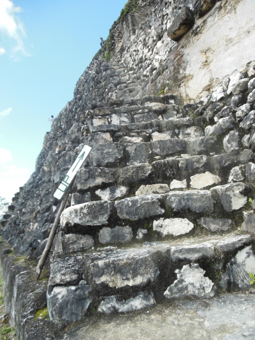 It's a great climb to the top of El Castillo.