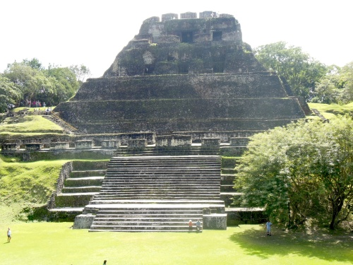 El Castillo (The Castle) is the tallest structure on the site and the second tallest structure in Belize.