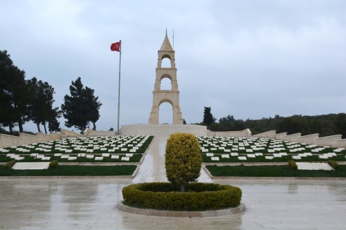 The open air posque and memorial to the Turkish 57th Regiment.  The story of this regiment, and why they no longer have a 57th regiment, is a sobering story well worth a read.