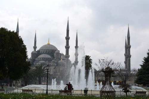 The iconic Blue Mosque