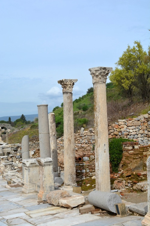 There was marble everywhere in Turkey. I learned that when it comes to columns, the whole Dorian/Ionic/Corinthian denomination wasn't as simple as my 7th grade history teacher had led me to believe.