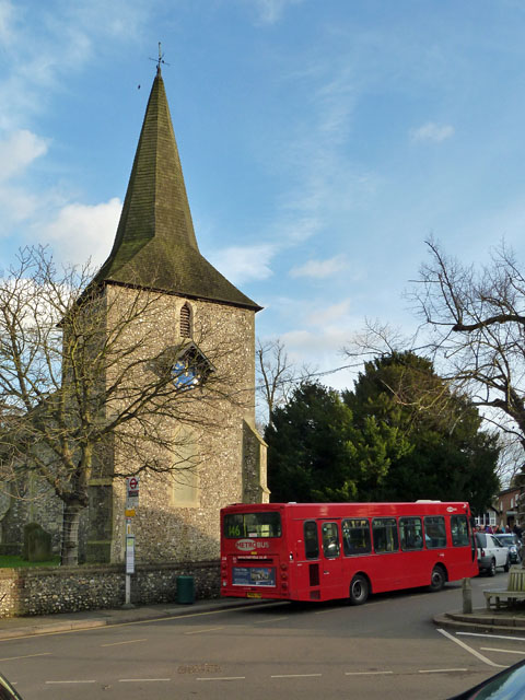 This is a picture of Downe Church (not mine) where Darwin would walk every Sunday.  Darwin lost faith in religion after the death of his first daughter, and while he would walk his family to church on Sunday he would not enter the church.  This is where his wife, Emma, is buried (Darwin is buried in Westminster Abbey).
