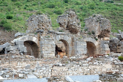 Ephesus- Much of this was under earth until relatively recently