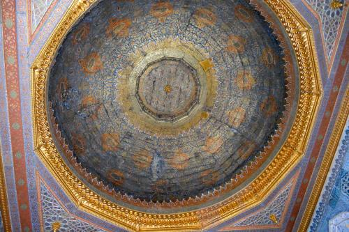 More splendor at Topkapi palace.