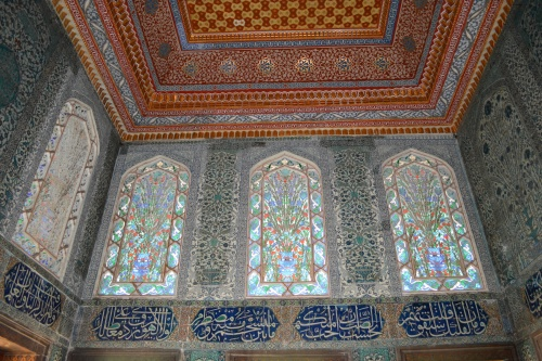 Topkapi Palace- The detail in the palace was beautiful,