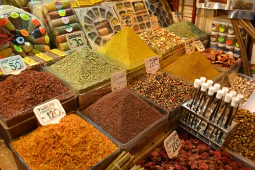 The Spice Market- If you're a fan of Saffron, the Spice Market is apparently the place to get it!