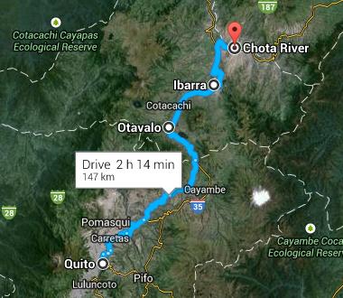 Onwards to Valle de Chota