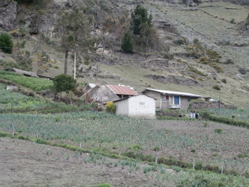 These are typical houses for the area around Quilotoa.