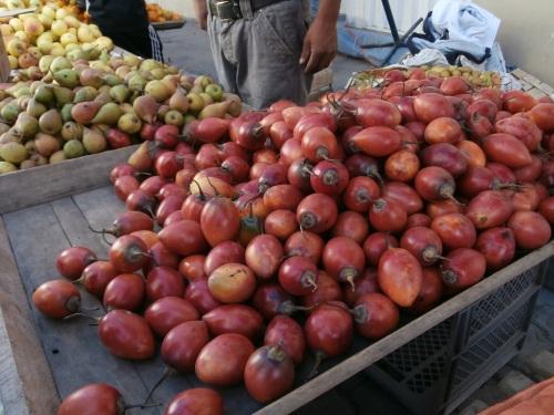 Tree tomatoes, aka Tamarillos- Solanum betaceum.